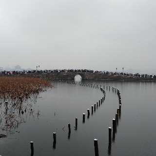 The snowy West Lake 3